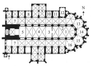 St. Nikolai Kirche Grundriss